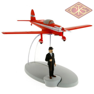 Moulinsart - Tintin / Kuifje Red Plane & Thomson Figurines