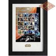 Star Wars - Framed Stamps Collector (43 X 29 Cm)