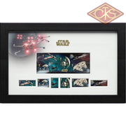 Star Wars - Framed Stamps Vehicles (43 X 27 Cm)