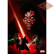 Star Wars - Metal Poster Darth Maul Duel (32 X 45 Cm) Posters