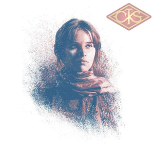 Star Wars - Metal Poster Successors Collection Jyn Erso (32 X 45 Cm) Posters