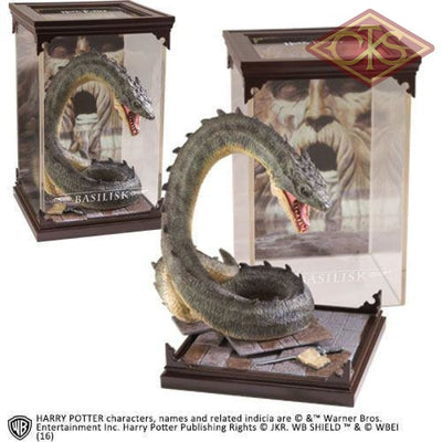 The Noble Collection - Magical Creatures Harry Potter Basilisk (03) Figurines