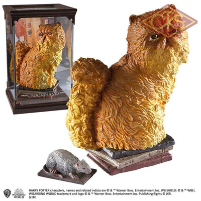 The Noble Collection - Magical Creatures Harry Potter Crookshanks (11) Figurines