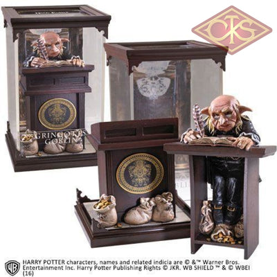 The Noble Collection - Magical Creatures Harry Potter Gringotts Goblin (10) Figurines