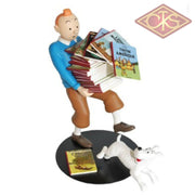 Tintin / Kuifje - Collection Images Mythiques:  Tenant Les Albums (°2013/02) Figurines