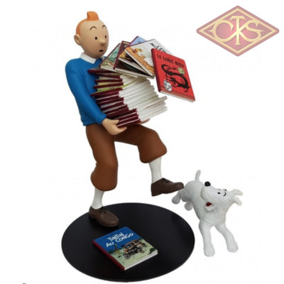 Tintin / Kuifje - Collection Images Mythiques:  Tenant Les Albums (°2014) Figurines