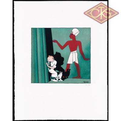 Tintin / Kuifje:  Litho Les Cigares Du Pharaont Exclusive