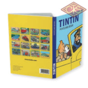 Tintin / Kuifje - Postcards Book Les Voitures De Voertuigen The Cars (Set Of 16 Cards)