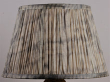 Load image into Gallery viewer, Shibori Ecru Ashvem Silk Lampshade