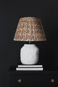 Cyndi Lamp and Red Yoyo lampshade