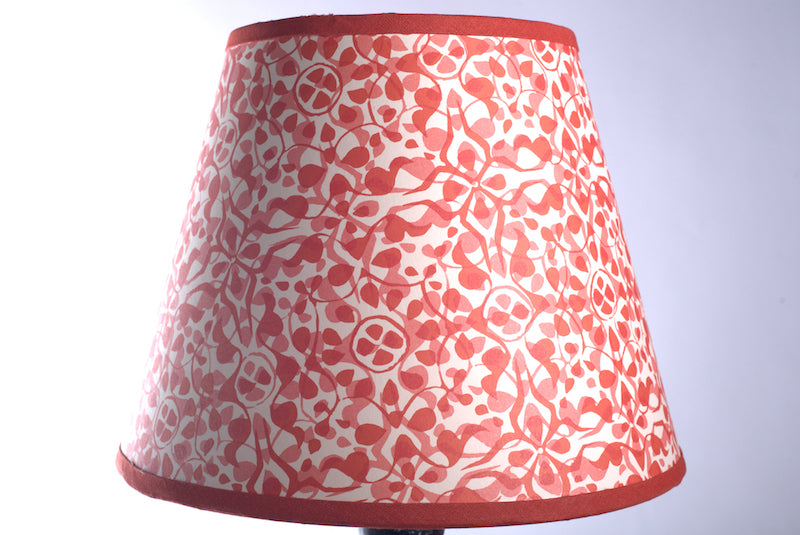 Red Paper Lampshade