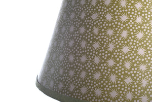 Green Paper Lampshade Small