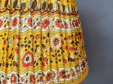 Load image into Gallery viewer, Yellow and red paisley Silk Lampshade