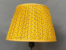 Load image into Gallery viewer, Yellow paisley Silk Lampshade
