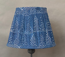 Load image into Gallery viewer, Indigo Triangle cotton Cotton Lampshade