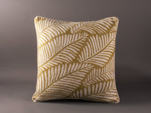 Load image into Gallery viewer, Green And Cream Kashmiri Crewel Cushion