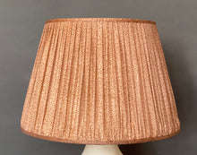 Load image into Gallery viewer, Pale pink silk lampshade