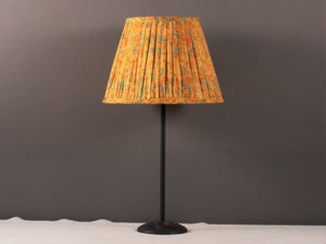 Yellow with light multicoloured Silk Lampshade