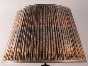 Multicoloured Silk Lampshade