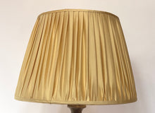 Load image into Gallery viewer, Plain yellow silk lampshade