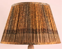 Load image into Gallery viewer, Saffron and Amber Silk Lampshade