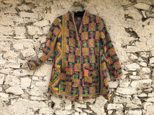 Load image into Gallery viewer, Multicoloured Patterned Kantha Coat