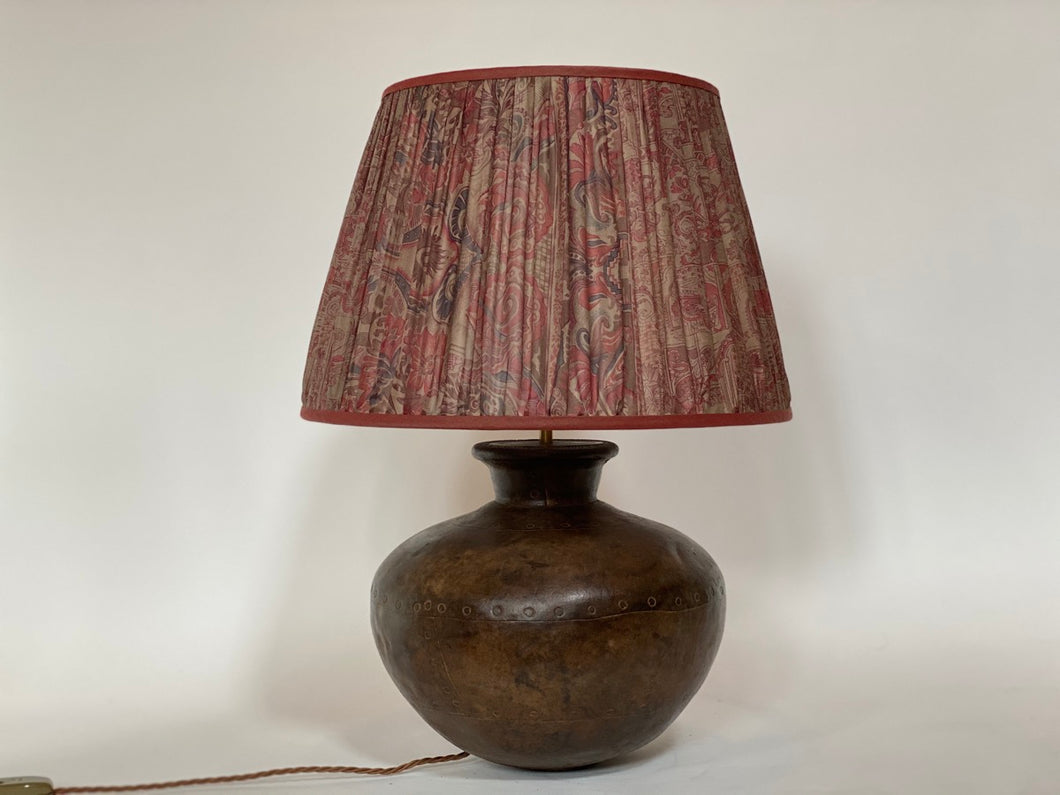 Indian Water Carrier Lamp Base