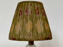 Load image into Gallery viewer, Pink and green Silk Lampshade