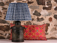 Load image into Gallery viewer, Indigo Cactus Cotton Lampshade
