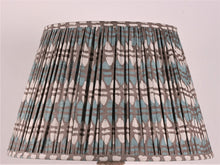 Load image into Gallery viewer, Teal And Grey Acorn Cotton Lampshade
