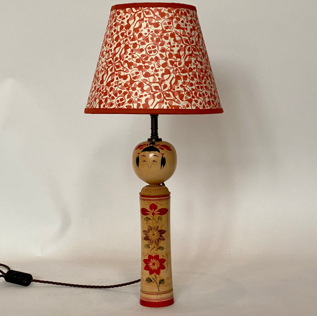 Kokeshi Doll Lamp Base