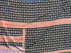 Plaster and pink kantha