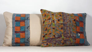 Kantha Cushion #112