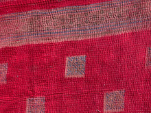 Load image into Gallery viewer, Orange and red kantha