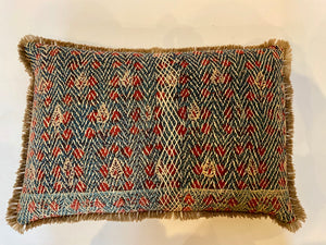 Banjara embroidered cushion small