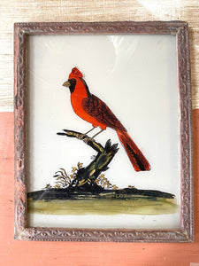 Bird Medium Glass Painting