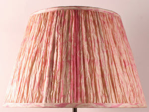 Big Baobab Lamp and Shibori pink lampshade