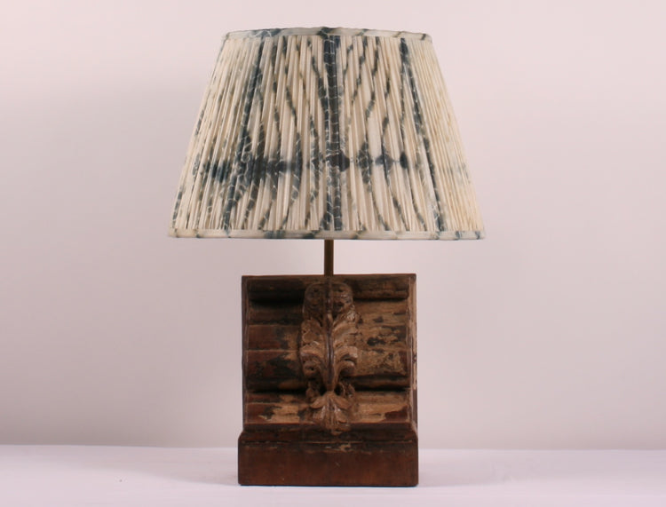 Teak bosse vintage table lamp