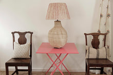 Load image into Gallery viewer, Big Baobab Lamp and Shibori pink lampshade