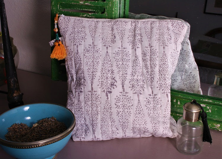 Block Print Wash Bag