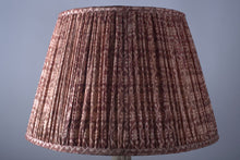 Load image into Gallery viewer, Alabaster pink silk lampshade