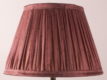 Load image into Gallery viewer, Maroon Silk Lampshade