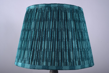 Load image into Gallery viewer, Malachite Silk Lampshade
