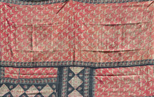 Load image into Gallery viewer, Pink and blue kantha
