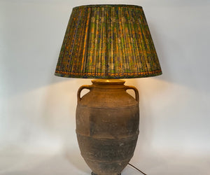 Plain Turkish Terracotta Lamp Base