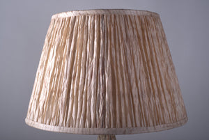 Big Baobab Lamp and Shibori Alleppey lampshade