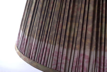 Load image into Gallery viewer, Terre Verte ikat silk lampshade