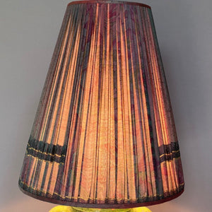 Conical Aubergine Lampshade