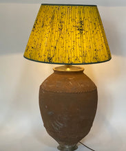 Load image into Gallery viewer, Very Large Turkish Terracotta Pot Lamp Base