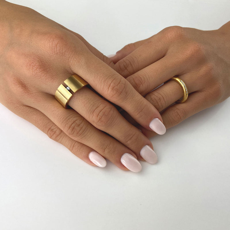 M&M Ring Modern Glam Gold | Modell  225 | MR3225-452 |4041299028272